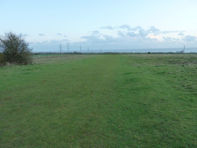 Footpath or playing field?