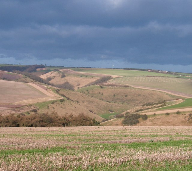 Wolds Way view