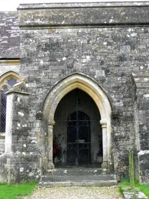 South porch, St Peter's Church