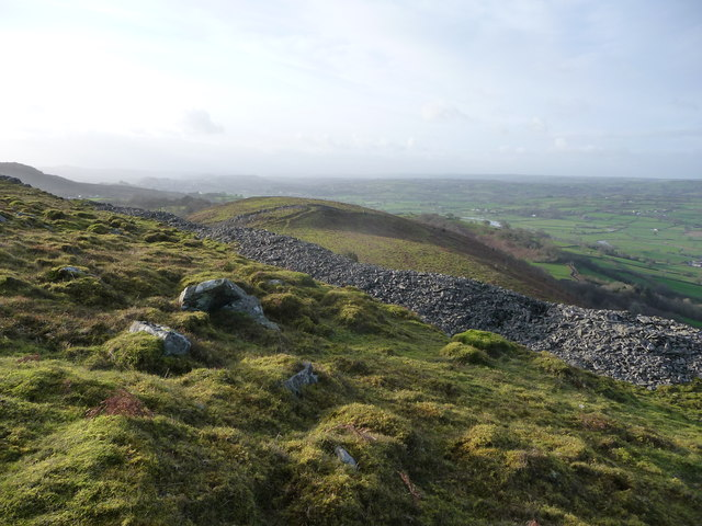 View from the ramparts of Y Gaer Fawr, Carn Goch