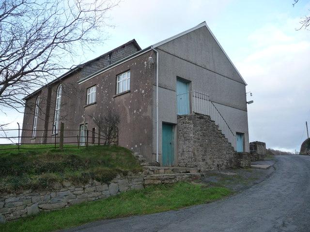 Chapel below Carn Goch