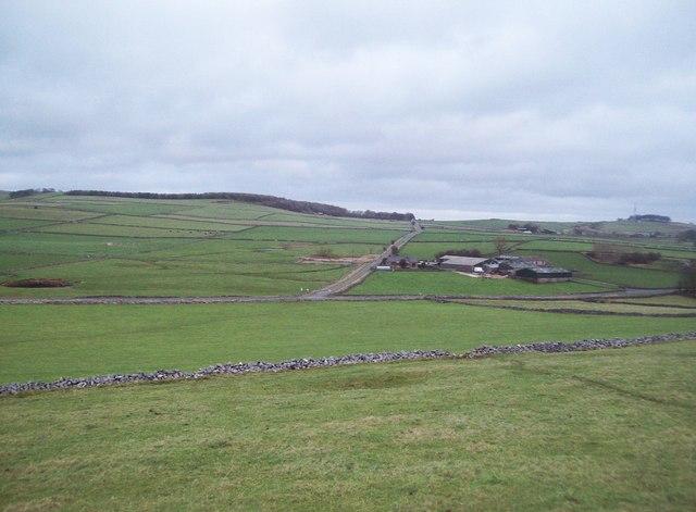 Overlooking Torr Farm