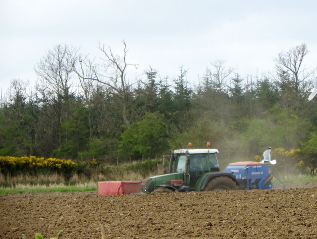 Tending the land, Prior Muir