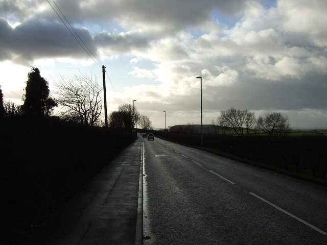 B6137 towards Kippax
