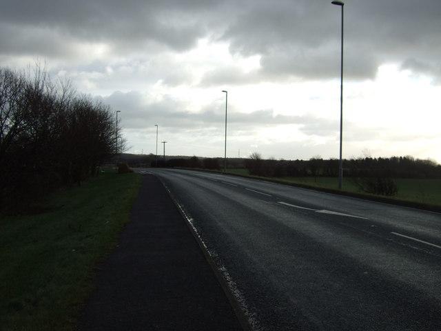 A63 heading east