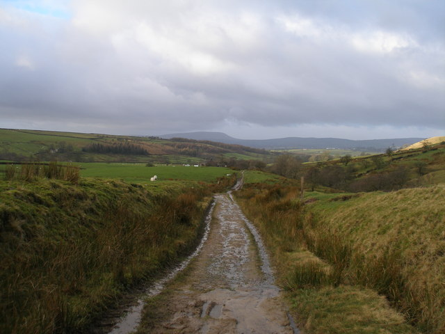 The Pendle Way near Parson Lee