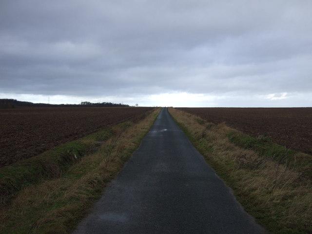 Gorse Lane towards Newthorpe