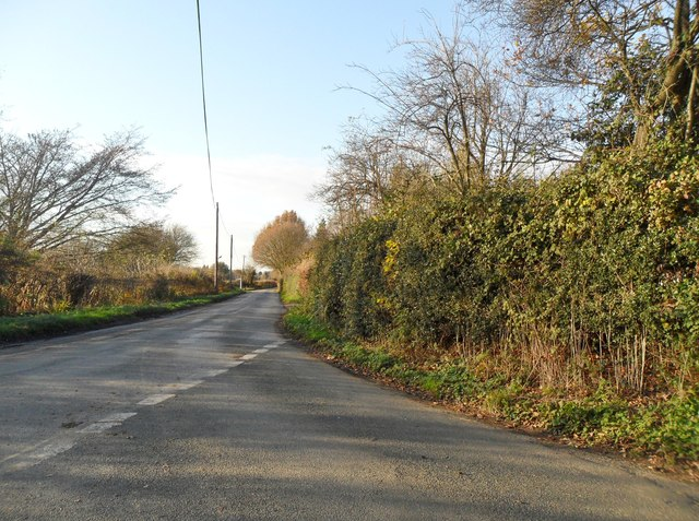 Chailey Lane, south of Newick