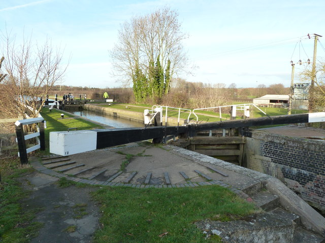 Lock 12, Grand Junction Canal - Buckby Lock