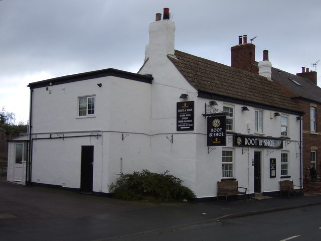 The Boot and Shoe, Barkston Ash