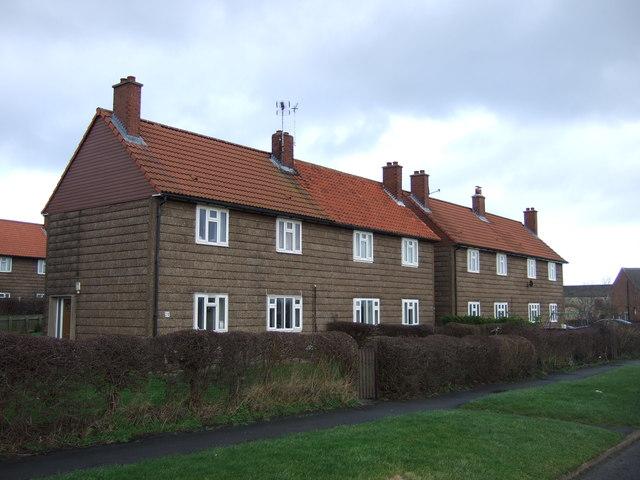 Houses on Back Lane