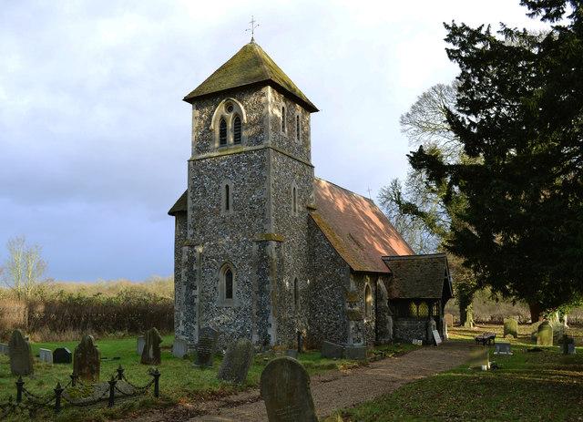 St John the Evangelist church, Bush End, Essex