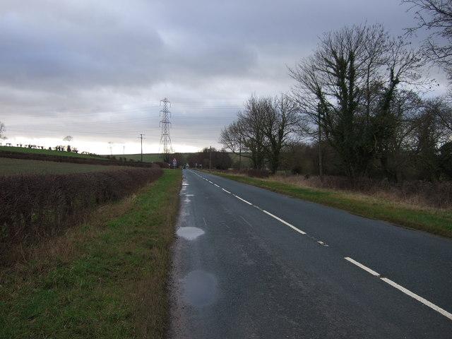 B1217 towards the M1