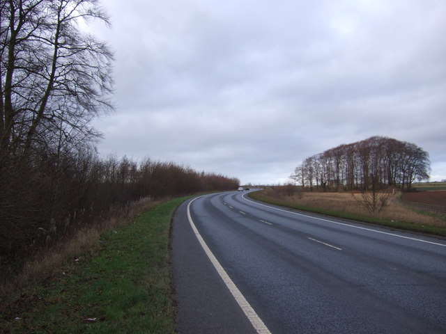 A656 towards the M1