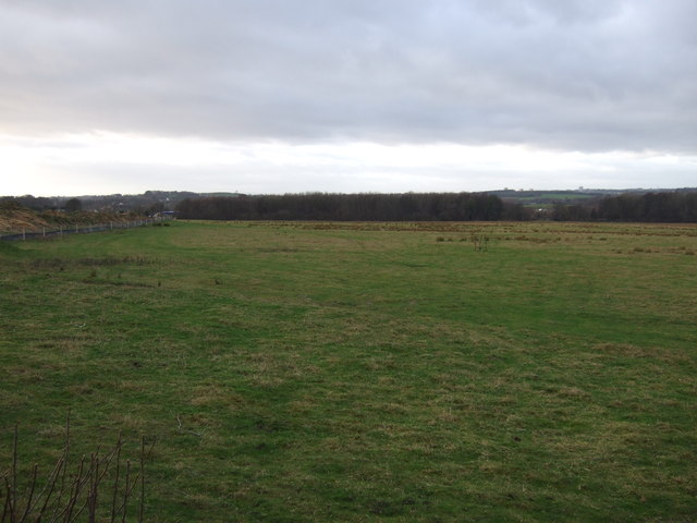 Farmland off the A642