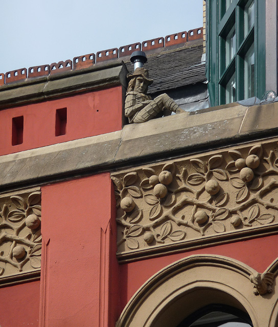 Detail of 77-83 Piccadilly, Manchester (2)