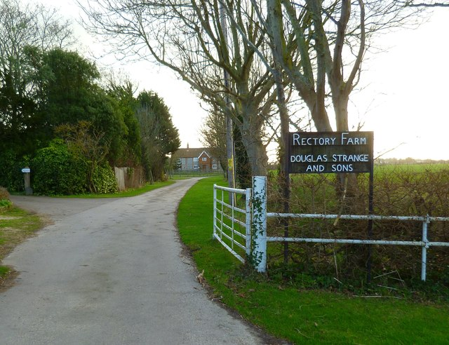 The entrance to Rectory Farm