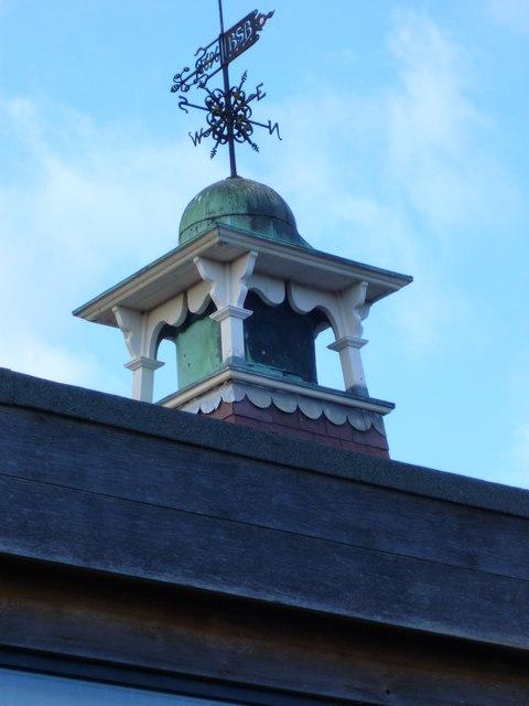 Weathervane at Bosham Primary School