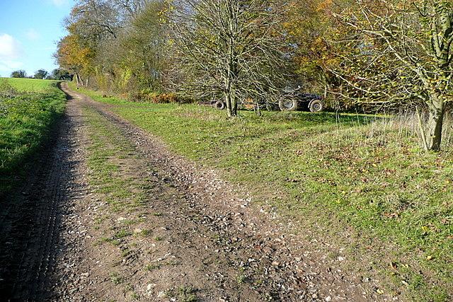 Footpath past English Wood