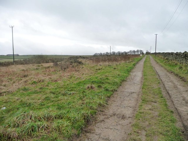 Track to Broadstone Reservoir