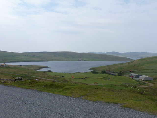 Gonfirth: view over Gon Firth