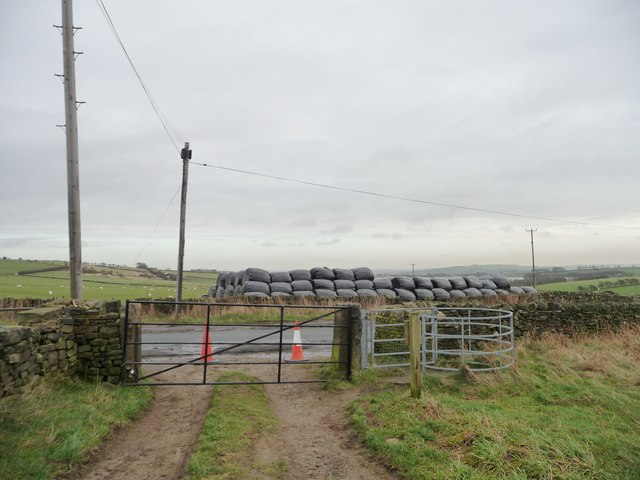 Gated exit from open access land