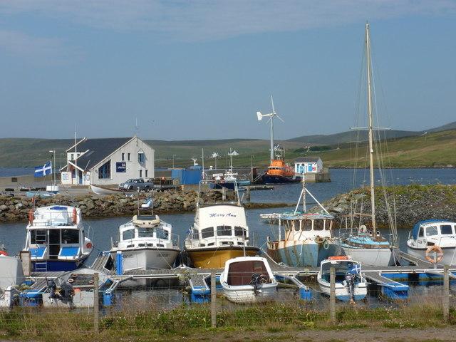 Aith: marina and harbour