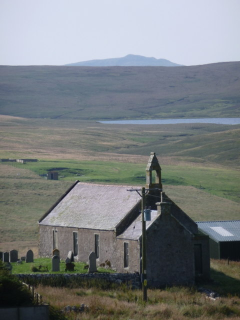 Twatt: the church