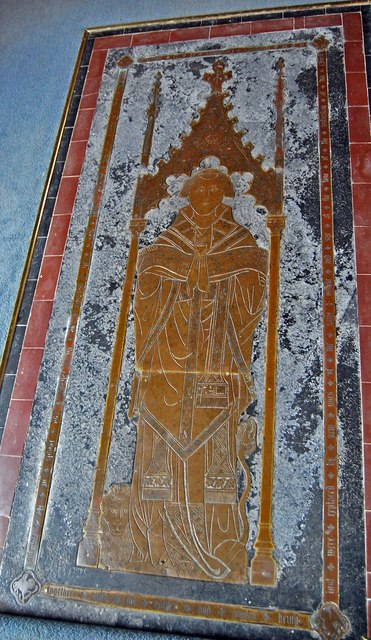Brass of Henry de Grofhurst, Horsmonden church