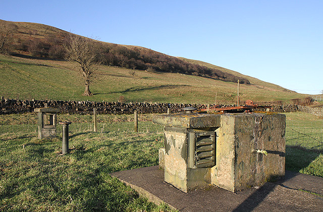 The ROC nuclear monitoring post at Langholm