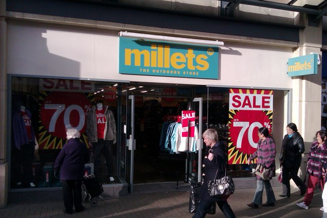 Millets, The Parade, Swindon