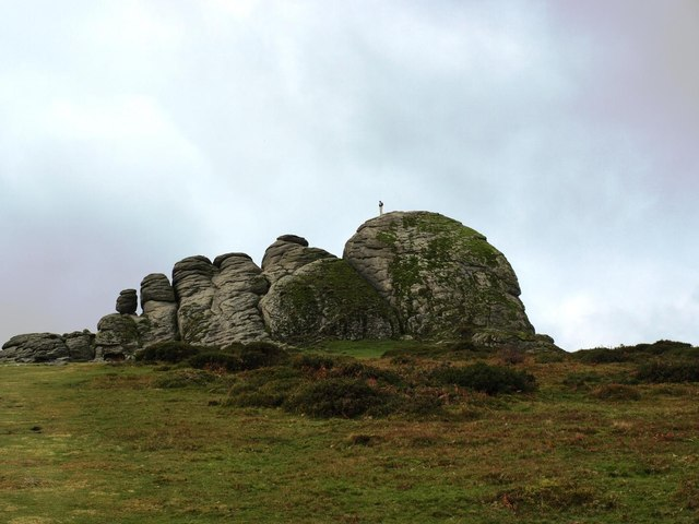 Approaching Haytor Rocks from the East