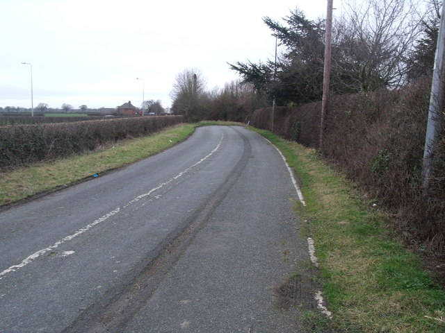 The old Middlewich rd A530
