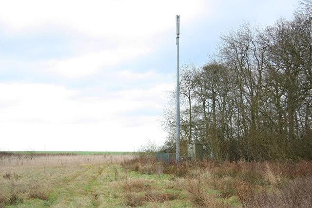 Mast at Bullington