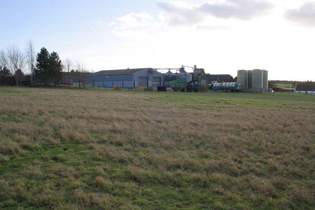 Clacks Farm from Clack's Lane