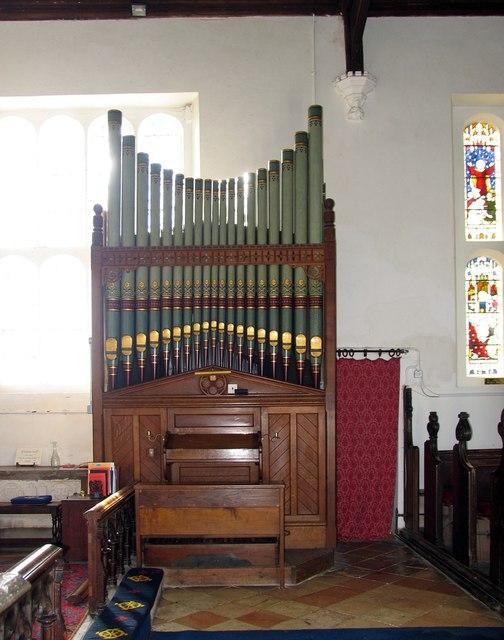 St Katharine, Gosfield - Organ
