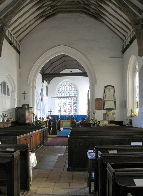 St Katharine, Gosfield - East end