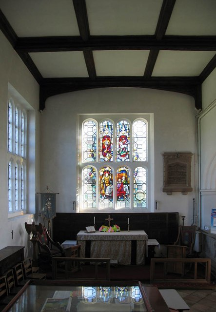 St Katharine, Gosfield - North chapel