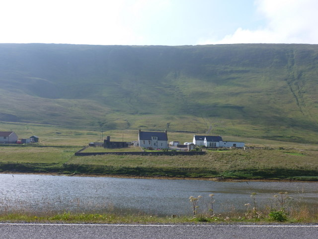 Weisdale: across the head of the voe