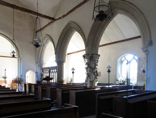 St Peter & St Paul, Bardfield Saling - South arcade