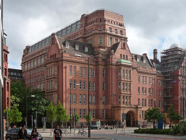 Former UMIST building, Whitworth Street, Manchester