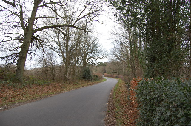 Spelmonden Road, near Parsonage Wood