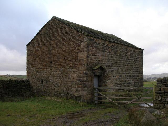 Barn west of Boulsworth Dyke