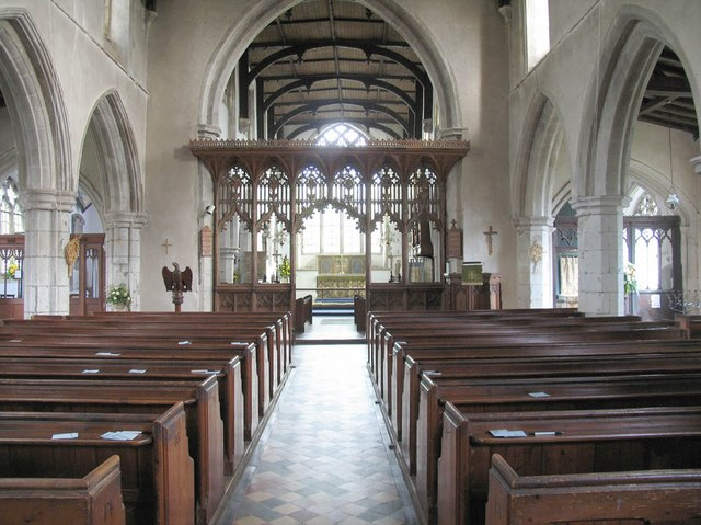 St John, Finchingfield - East end