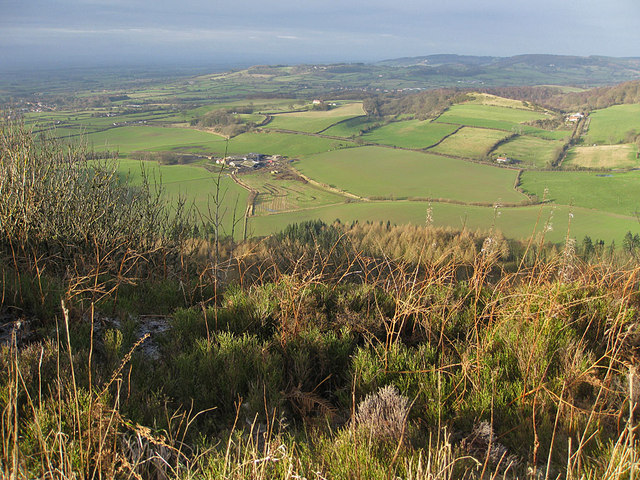 View over Hood Grange from Roulston Scar