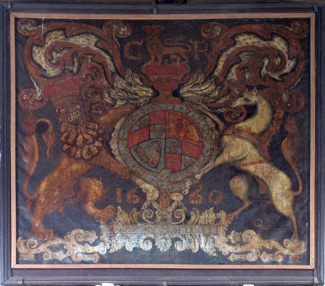 St John, Finchingfield - Royal Arms