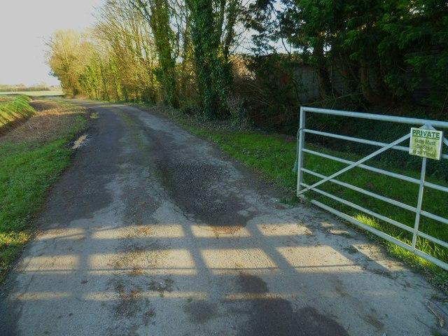 Gate on Hook Lane
