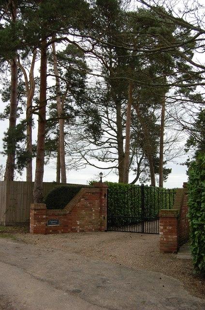 Entrance to Flightshott House