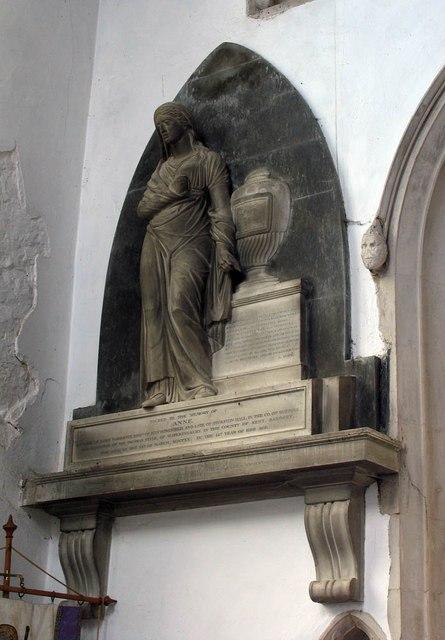 St John, Finchingfield - Wall monument