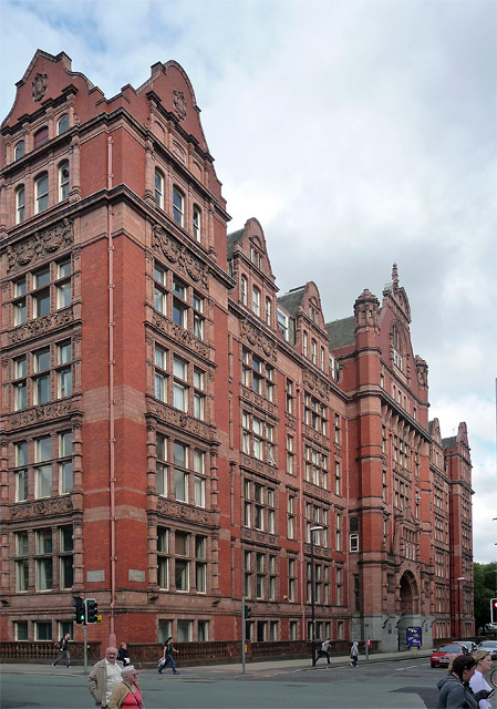 Former UMIST building, Sackville Street, Manchester